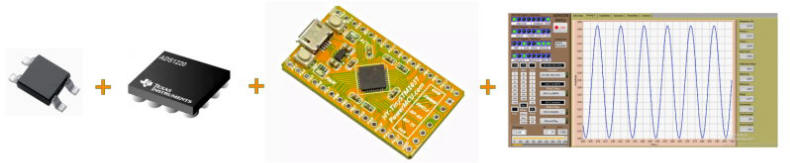 Hall Element ADS1220 STM32F103 LabVIEW